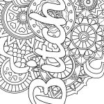 Printable Swear Word Coloring Pages Marvelous Mandala Adult Coloring Page Swear 14 Free Printable Coloring