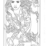 Printable Tattoo Coloring Pages Amazing 97 Best Body Art Tattoo Coloring Pages for Adults Images