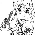 Printable Tattoo Coloring Pages Elegant Coloring Coloring Disney Ariel Printable Pages High Quality