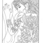 Printable Tattoo Coloring Pages Inspired 97 Best Body Art Tattoo Coloring Pages for Adults Images