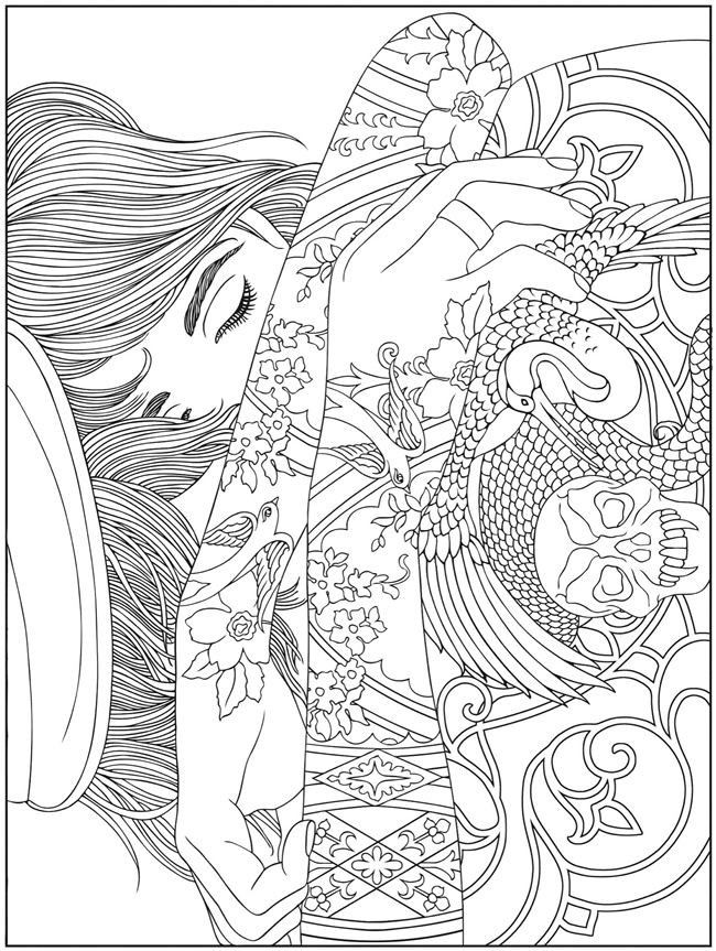 Hard Coloring Pages for Adults Coloring Pages
