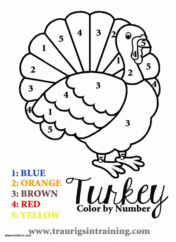 Beautiful Free Printable Thanksgiving Coloring Page 2019
