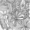 Printables for Adults Creative Coloring Pages with Flowers Coloring Pages with Flowers Most