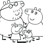Printables Peppa Pig Elegant Peppa Pig Christmas Coloring Pages – Lifewiththepeppers