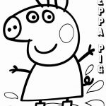 Printables Peppa Pig Inspired Peppa Pig Coloring Page Unique Cute Pig Coloring Pages Elegant Peppa