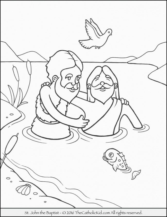 Pritable Coloring Pages Pretty Free Printable Coloring Pages John the Baptist New Cool Free