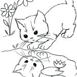Puppies and Kittens Coloring Pages Amazing Kitten Coloring Pages Free Printable – Zupa Miljevci
