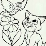 Puppies and Kittens Coloring Pages Amazing Unique Printable Kitten Coloring Page 2019