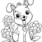 Puppies and Kittens Coloring Pages Beautiful Easy Coloring Pages Coloring and Activity Pages