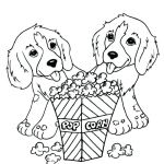 Puppies and Kittens Coloring Pages Brilliant Free Puppy Coloring Pages – Contentpark