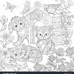 Puppies and Kittens Coloring Pages Creative Puppy and Kitten Coloring Pages New Best Od Dog Coloring Pages Free