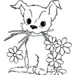 Puppies and Kittens Coloring Pages Excellent Puppy Coloring Pages for Free – Royaltyhairstore