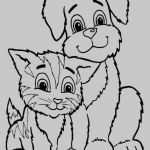 Puppies and Kittens Coloring Pages Exclusive 14 Awesome Kitten Coloring Pages Kanta