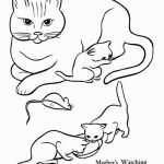 Puppies and Kittens Coloring Pages Inspiration Beautiful Kitten Coloring Pages for Free