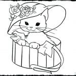Puppies and Kittens Coloring Pages Inspirational Kitten Colouring In – Sugarbucketink