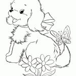 Puppies and Kittens Coloring Pages Inspired Kittens Drawing at Getdrawings