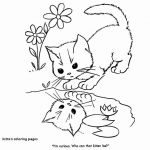 Puppies and Kittens Coloring Pages Marvelous Elegant Cat with Kitten Coloring Pages – Lovespells