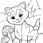 Puppies and Kittens Coloring Pages Wonderful Printable Kittens Luxury Cats and Kittens to Color New