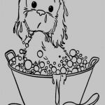 Puppy Coloring Books Pretty Cartoon Dog Coloring Pages Kanta
