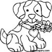 Puppy Coloring Pages Online Pretty Free Print Out Dog Coloring Pages for Kids Drawing