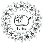 Pusheen Coloring Book Best Pusheen Cat Coloring Pages New Picture Coloring Line Elegant Color