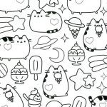 Pusheen Coloring Book Marvelous Pusheen Coloring Pages Lovely Kawaii Coloring Pages Inspirational 94