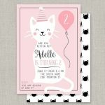 Pusheen the Cat Birthday Pretty Pusheen Cat Birthday Party Invitations – Waggapoultryub