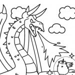 Pusheen the Cat Coloring Pages Amazing Pusheen Cat Coloring Pages