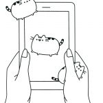 Pusheen the Cat Coloring Pages Awesome Pusheen Coloring Pages Coloring Pages