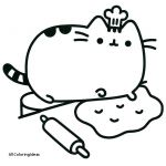 Pusheen the Cat Coloring Pages Elegant Coloring Pages Mermaid Free Collection for the Cat Pusheen