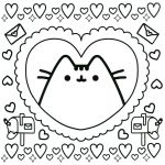 Pusheen the Cat Coloring Pages Excellent Free Printable Pusheen Coloring Pages