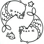 Pusheen the Cat Coloring Pages Inspiration 94 Best Pusheen Coloring Book Images In 2016