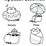 Pusheen the Cat Coloring Pages Inspirational Pusheen Cat Coloring Pages