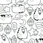 Pusheen the Cat Coloring Pages Inspiring Pusheen Coloring Pages Lovely Kawaii Coloring Pages Inspirational 94