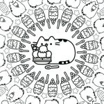 Pusheen the Cat Party Beautiful Pusheen Cat Coloring Pages Unique 133 Best Art Furry Friends Cats
