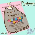 Pusheen the Cat Party Brilliant Sherri Arnold Arnold3958 On Pinterest