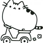 Pusheen the Cat Pictures Beautiful Pusheen Cat Coloring Pages New Picture Coloring Line Elegant Color