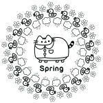 Pusheen the Cat Pictures Exclusive Pusheen Cat Coloring Pages New Picture Coloring Line Elegant Color