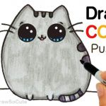 Pusheen the Cat Pictures Inspiration Drawings Easy with Color How to Draw Color Pusheen Cat Step by Step