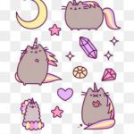 Pusheen the Cat Pictures Inspired Free Unicorn Png