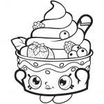 Queen Cupcake Shopkin Inspired New Shopkins Birthday Cake Coloring Pages – Kursknews