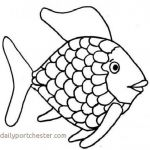 Rainbow Coloring Books Awesome Goldfish Coloring Page Beautiful Kids Printable Rainbow Fish