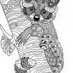 Realistic Cat Coloring Pages Inspirational Coloring Pages Free Coloring Pages Animals Flower Coloring Pages