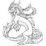 Realistic Dragon Coloring Page Amazing Realistic Hydra Dragon Coloring Pages