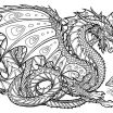 Realistic Dragon Coloring Page Awesome Dragon Coloring Pages Bestofcoloring