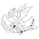 Realistic Dragon Coloring Page Beautiful Coloring Pages Baby Dragonfly for Adults Dragon Heads Real