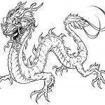 Realistic Dragon Coloring Page Beautiful Free Printable Dragon Coloring Pages for Kids