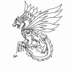 Realistic Dragon Coloring Page Exclusive Wings Fire Coloring Pages Fresh Fire Breathing Dragon Coloring