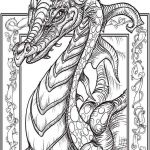 Realistic Dragon Coloring Page Inspiration Dragon Coloring Pages for Adults Awesome New Dragon Coloring Pages