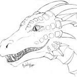 Realistic Dragon Coloring Page Inspirational Printable Dragon Coloring Pages Trend Detailed Dragon Colouring Best